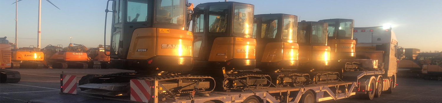 5 Mini Sany Excavators