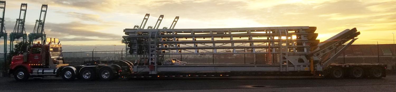 Large Steel Frame On Transport1