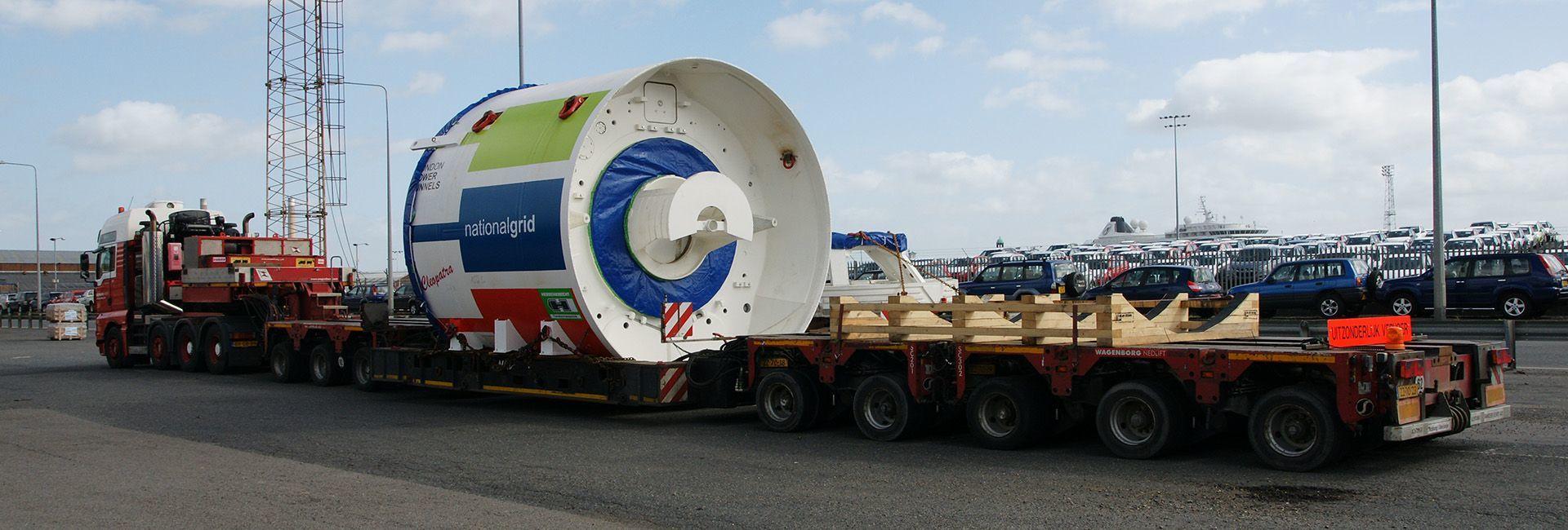 National Grid London Tunnel Boring Machine
