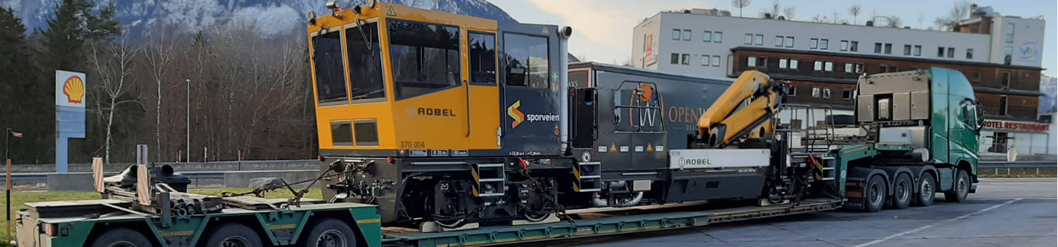 Robel Trains Transportation For Servicing