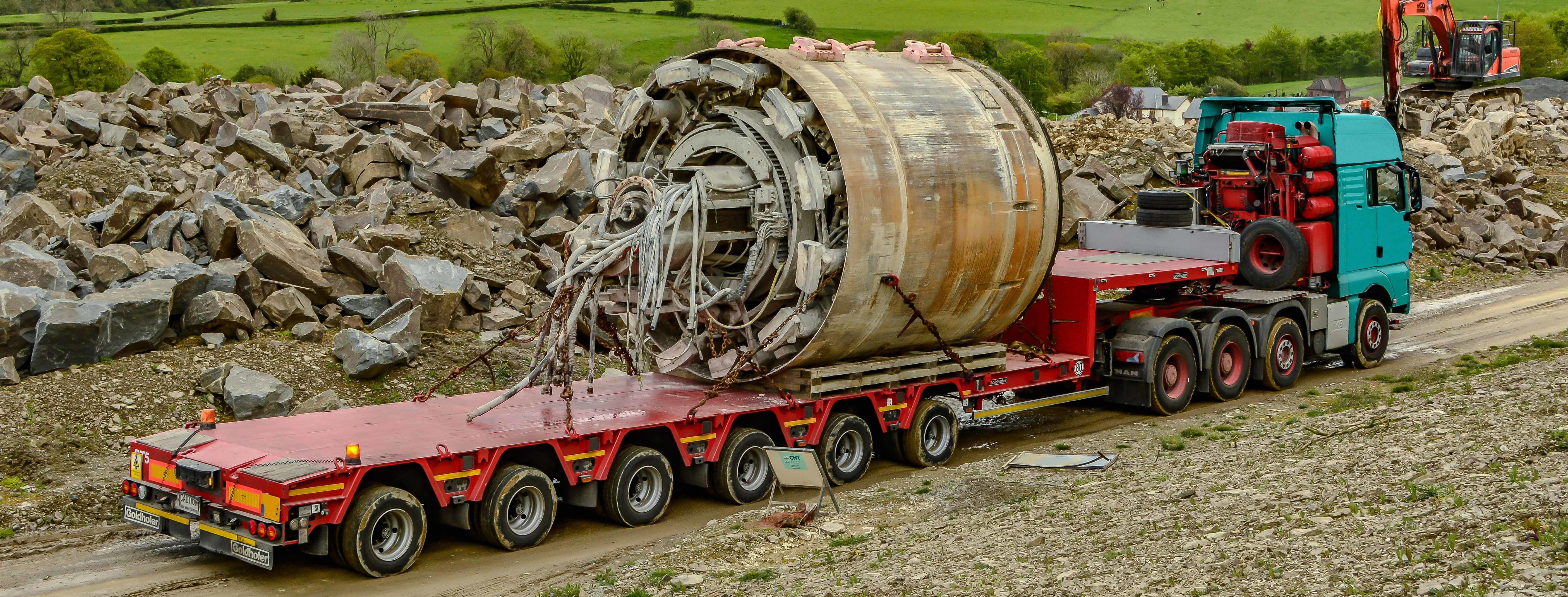 Tbm Section On Transport Wales