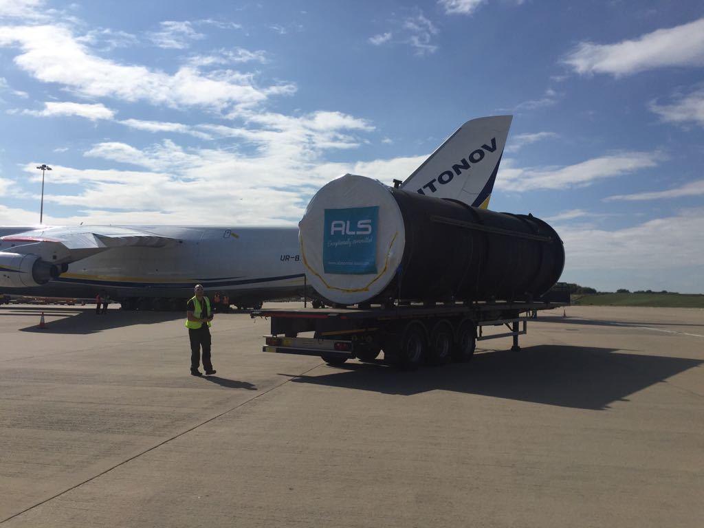 Vcu On Transport Ready For Loading Onto Plane 5