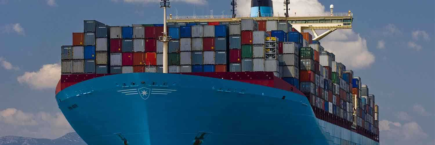 Containers On Ship