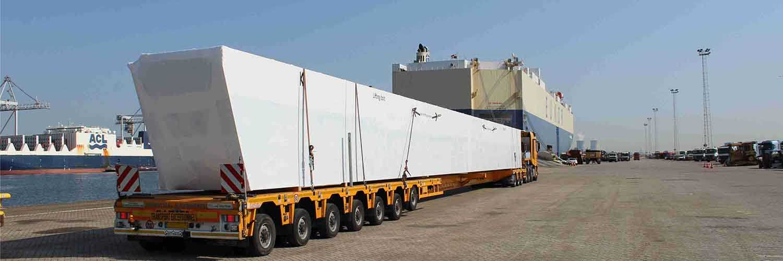 Crane Beam Transportation And Shipping