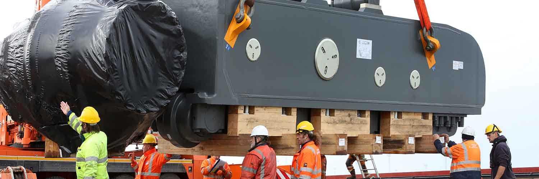 Mining Lift Liebherr 9800