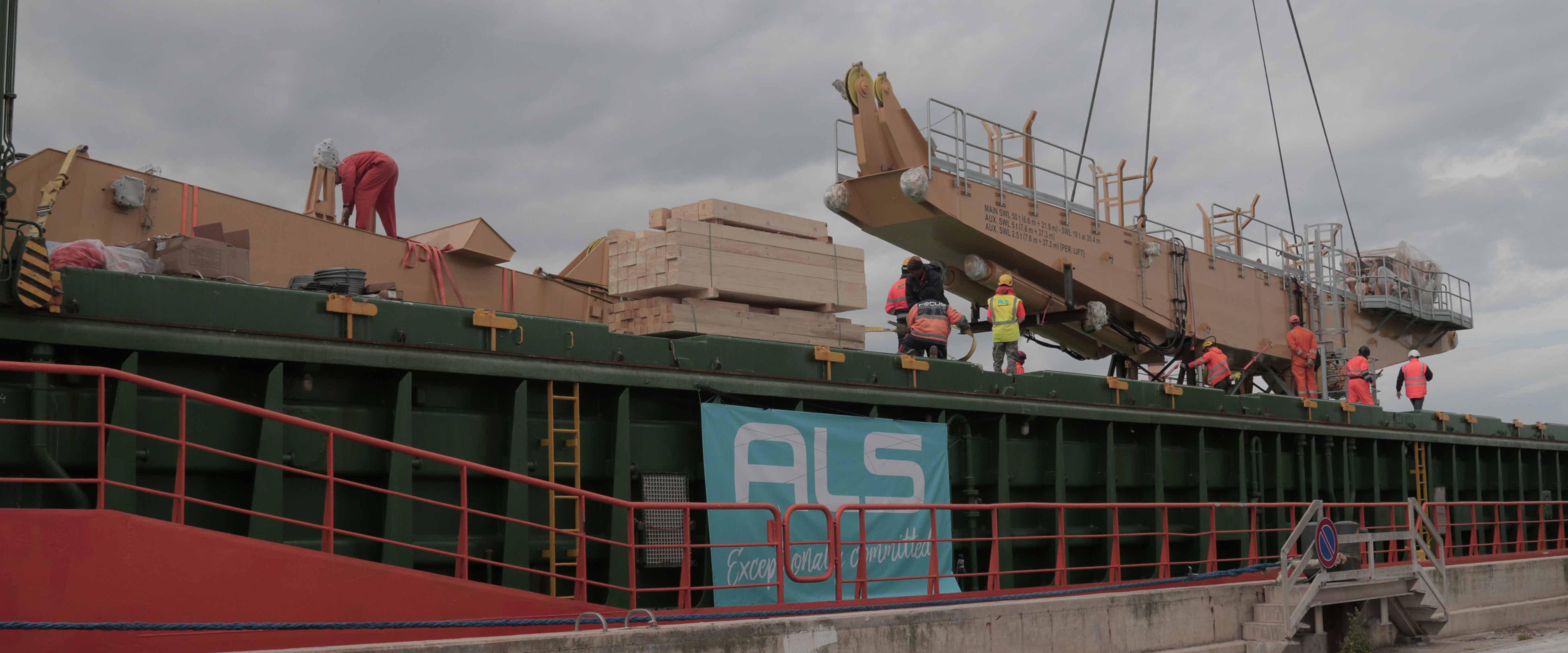 Construction & Machinery Logistics | Abnormal Loads