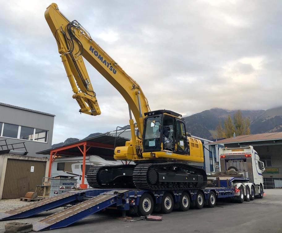 Komatsu Pc290 Nlc 11 Crawler Excavator To Switzerland