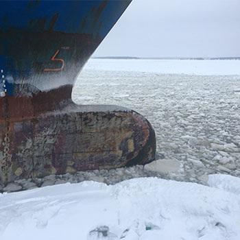 Wintery Conditions Scandinavia